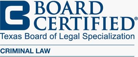 board certified texas board of legal specialization criminal law badge